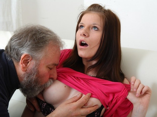 Maria Lets An Old Dude Fuck Her